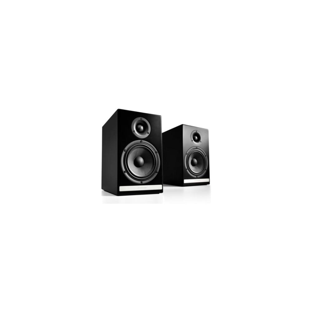 A large main feature product image of Audioengine HDP6 Passive Bookshelf Speakers - Satin Black