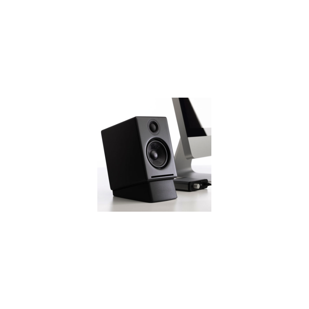 A large main feature product image of Audioengine DS1 Desktop Speaker Stands (Pair) - Small