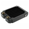 A product image of PrimoChill 120mm EximoSX Slim Radiator - Black