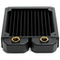 A small tile product image of PrimoChill 120mm EximoSX Slim Radiator - Black
