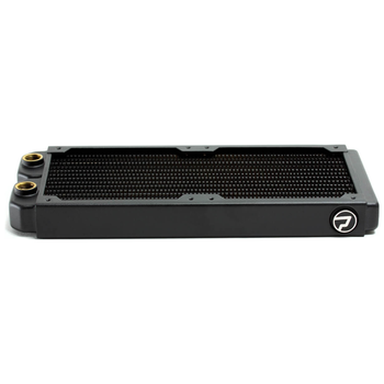 Product image of PrimoChill 240mm EximoSX Slim Radiator - Black - Click for product page of PrimoChill 240mm EximoSX Slim Radiator - Black