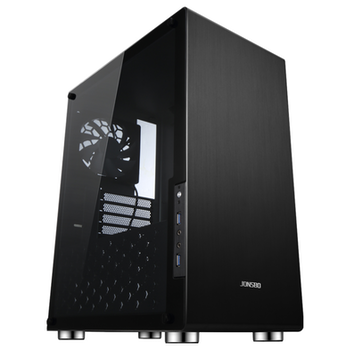 Product image of Jonsbo U4 Black ATX Case w/Tempered Glass Side Panel - Click for product page of Jonsbo U4 Black ATX Case w/Tempered Glass Side Panel
