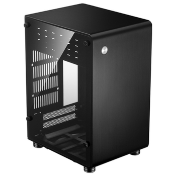 Product image of Jonsbo U1 Plus Black Mini ITX Case w/Tempered Glass Side Panel - Click for product page of Jonsbo U1 Plus Black Mini ITX Case w/Tempered Glass Side Panel
