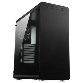 Product image of Jonsbo RM4 Black ATX Case w/Tempered Glass Side Panel - Click for product page of Jonsbo RM4 Black ATX Case w/Tempered Glass Side Panel