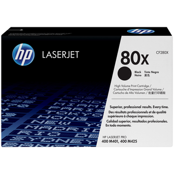 Product image of HP CF280X Black Toner - Click for product page of HP CF280X Black Toner