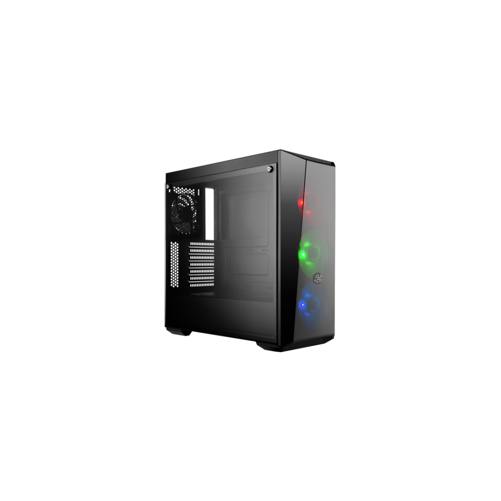 A large main feature product image of Cooler Master MasterBox Lite 5 RGB Mid Tower Case w/Side Panel Window