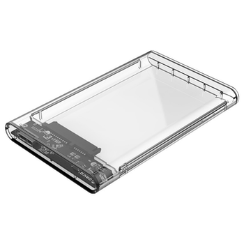 """Product image of ORICO USB3.0 2.5"""" External HDD Enclosure Clear - Click for product page of ORICO USB3.0 2.5"""" External HDD Enclosure Clear"""
