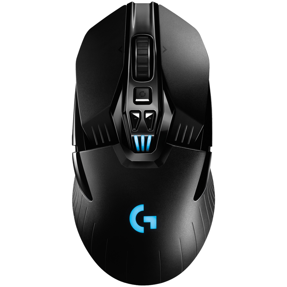 A large main feature product image of Logitech G903 LIGHTSPEED Cordless Optical Gaming Mouse Black