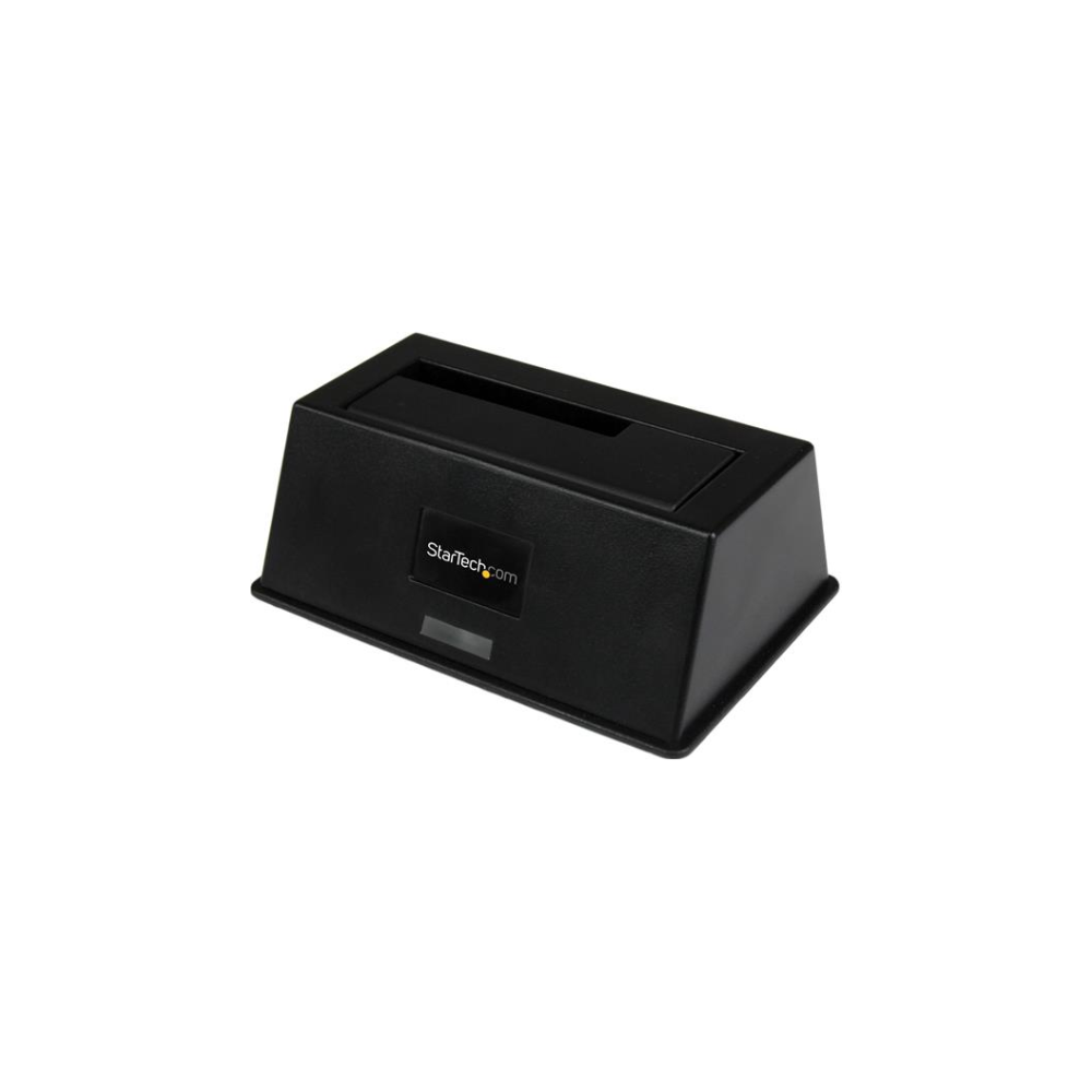 A large main feature product image of Startech eSATA/USB 3.0 SATA III Docking Station with UASP