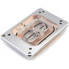 A product image of XSPC Raystorm Neo (AMD sTR4) CPU Waterblock - Chrome