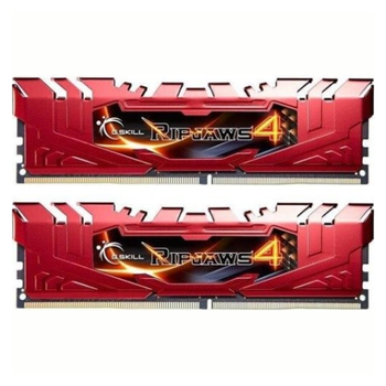 Product image of G.Skill 16GB Kit (2x8GB) DDR4 Ripjaws 4 Red C15 2400MHz - Click for product page of G.Skill 16GB Kit (2x8GB) DDR4 Ripjaws 4 Red C15 2400MHz
