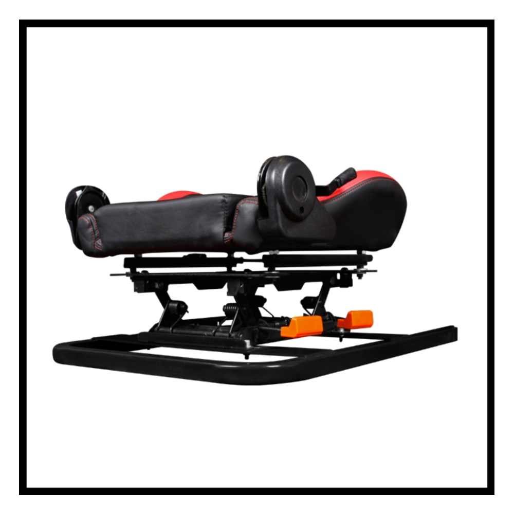 A large main feature product image of DXRacer Racing Simulator w/ Seat Combo