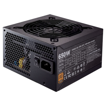 Product image of Cooler Master MWE 650W 80PLUS Bronze Power Supply - Click for product page of Cooler Master MWE 650W 80PLUS Bronze Power Supply