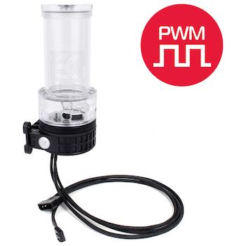 EK X-RES 140 Revo D5 PWM - Plexi (incl. Sleeved Pump)