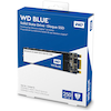 A product image of WD Blue 250GB 3D NAND M.2 SSD