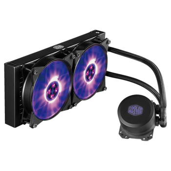 Product image of Cooler Master MasterLiquid ML240L RGB AIO Liquid Cooler - Click for product page of Cooler Master MasterLiquid ML240L RGB AIO Liquid Cooler