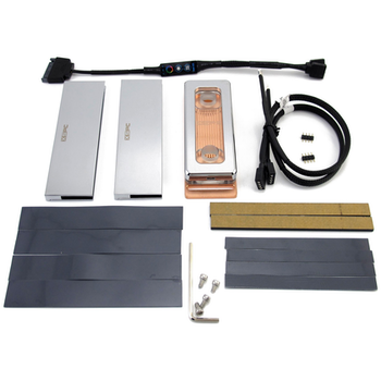 Product image of XSPC Neo Memory Waterblock Kit - Chrome - Click for product page of XSPC Neo Memory Waterblock Kit - Chrome