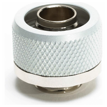 "Product image of Primochill FlexSX 10mm(3/8"") ID 16mm(5/8"") OD Compression Fitting - Silver - Click for product page of Primochill FlexSX 10mm(3/8"") ID 16mm(5/8"") OD Compression Fitting - Silver"