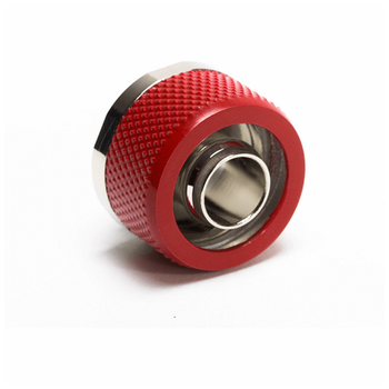 "Product image of Primochill FlexSX 10mm(3/8"") ID 16mm(5/8"") OD Compression Fitting - Razor Red - Click for product page of Primochill FlexSX 10mm(3/8"") ID 16mm(5/8"") OD Compression Fitting - Razor Red"