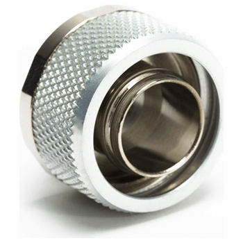 """Product image of Primochill FlexSX 13mm(1/2"""") ID 19mm(3/4"""") OD Compression Fitting - Silver - Click for product page of Primochill FlexSX 13mm(1/2"""") ID 19mm(3/4"""") OD Compression Fitting - Silver"""