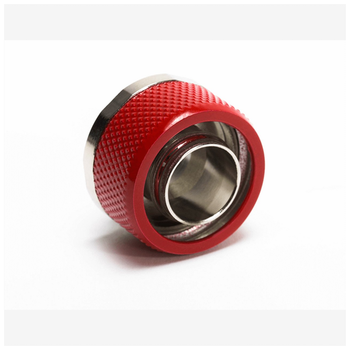 "Product image of Primochill FlexSX 13mm(1/2"") ID 19mm(3/4"") OD Compression Fitting - Razor Red - Click for product page of Primochill FlexSX 13mm(1/2"") ID 19mm(3/4"") OD Compression Fitting - Razor Red"