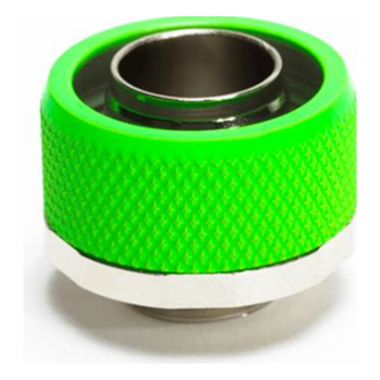 """Product image of Primochill FlexSX 13mm(1/2"""") ID 19mm(3/4"""") OD Compression Fitting - UV Green - Click for product page of Primochill FlexSX 13mm(1/2"""") ID 19mm(3/4"""") OD Compression Fitting - UV Green"""