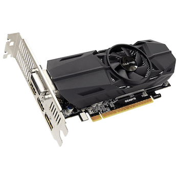 Product image of Gigabyte GeForce GTX1050Ti 4GB GDDR5 Low-Profile - Click for product page of Gigabyte GeForce GTX1050Ti 4GB GDDR5 Low-Profile