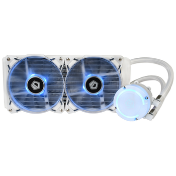 Product image of ID-COOLING AuraFlow 240 SNOW RGB AIO CPU Liquid Cooler - Click for product page of ID-COOLING AuraFlow 240 SNOW RGB AIO CPU Liquid Cooler