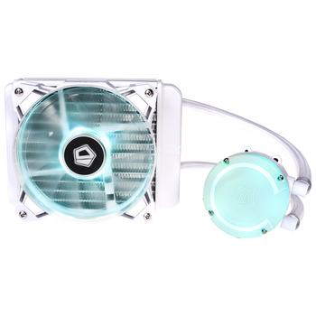 Product image of ID-COOLING AuraFlow 120 SNOW RGB AIO CPU Liquid Cooler - Click for product page of ID-COOLING AuraFlow 120 SNOW RGB AIO CPU Liquid Cooler