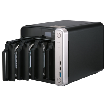 Product image of QNAP TS-453BT3 1.5Ghz 8GB 4 Bay w/ Thunderbolt NAS Enclosure - Click for product page of QNAP TS-453BT3 1.5Ghz 8GB 4 Bay w/ Thunderbolt NAS Enclosure