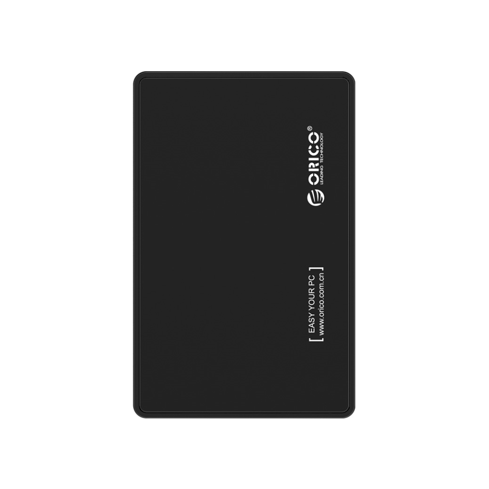 A large main feature product image of ORICO 2.5in USB3.0 Hard Drive Enclosure