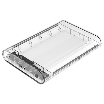 Product image of ORICO 3.5in External Hard Drive Enclosure - Clear - Click for product page of ORICO 3.5in External Hard Drive Enclosure - Clear