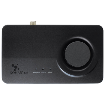 Product image of ASUS Xonar U5 5.1 USB Sound Card - Click for product page of ASUS Xonar U5 5.1 USB Sound Card