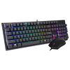 A product image of Cooler Master MasterSet MS121 Independent-RGB Keyboard/Mouse Combo Kit
