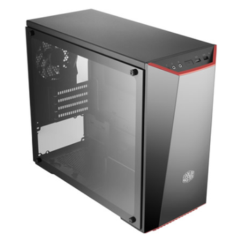 Product image of Cooler Master MasterBox Lite 3.1 TG mATX Mid Tower Case w/Tempered Glass Side Panel - Click for product page of Cooler Master MasterBox Lite 3.1 TG mATX Mid Tower Case w/Tempered Glass Side Panel