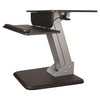 A product image of Startech Ergonomic Sit/Stand Workstation -One-Touch Height Adjustment