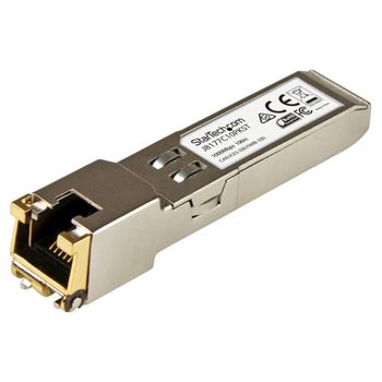 Product image of Startech 10 Pack - Gigabit RJ45 Copper SFP - HP J8177C Compatible - Click for product page of Startech 10 Pack - Gigabit RJ45 Copper SFP - HP J8177C Compatible