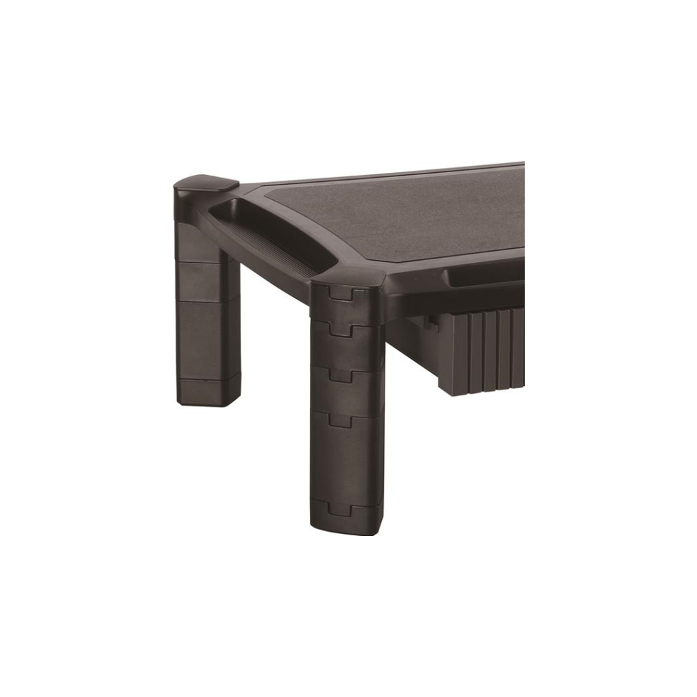 A large main feature product image of Startech Monitor Riser - Large Surface - Drawer - Height Adjustable