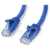 A product image of Startech 1m Blue Snagless Cat6 UTP Patch Cable - ETL Verified