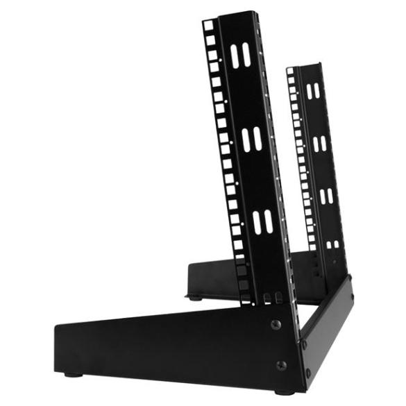 Startech 2 Post Server Rack For Desktops 8u Open Frame