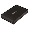 """A product image of Startech USB 3.1 (10Gbps) 2.5"""" SATA Drive Enclosure - USB-A, USB-C"""