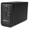 "A product image of Startech USB 3.1 Dual 3.5"" SATA HDD Enclosure with RAID - USB-C/USB-A"