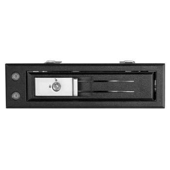 Product image of Startech 5.25 to 3.5 Drive Hot Swap Bay - For 3.5 SATA/SAS - Trayless - Click for product page of Startech 5.25 to 3.5 Drive Hot Swap Bay - For 3.5 SATA/SAS - Trayless