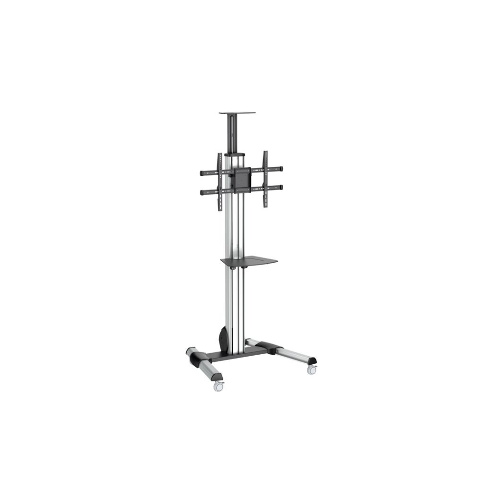 "A large main feature product image of Startech TV Cart - Mobile TV Stand for 32-70"" TVs - Height Adjustment"