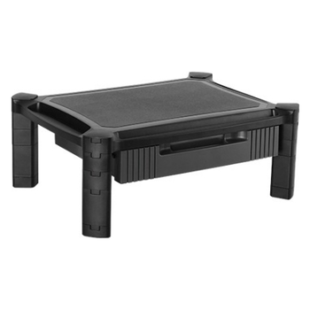 "Product image of Brateck Height-Adjustable Monitor Stand w/ Drawer (13"" - 32"") - Click for product page of Brateck Height-Adjustable Monitor Stand w/ Drawer (13"" - 32"")"