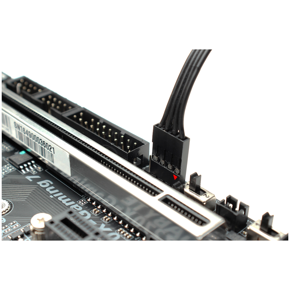 A large main feature product image of EK RES X3 150 RGB - 150mm Tube Reservoir