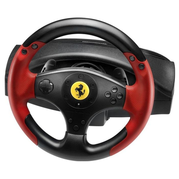 Product image of Thrustmaster Ferrari Red Legend Edition Racing Wheel for PC and PS3 - Click for product page of Thrustmaster Ferrari Red Legend Edition Racing Wheel for PC and PS3