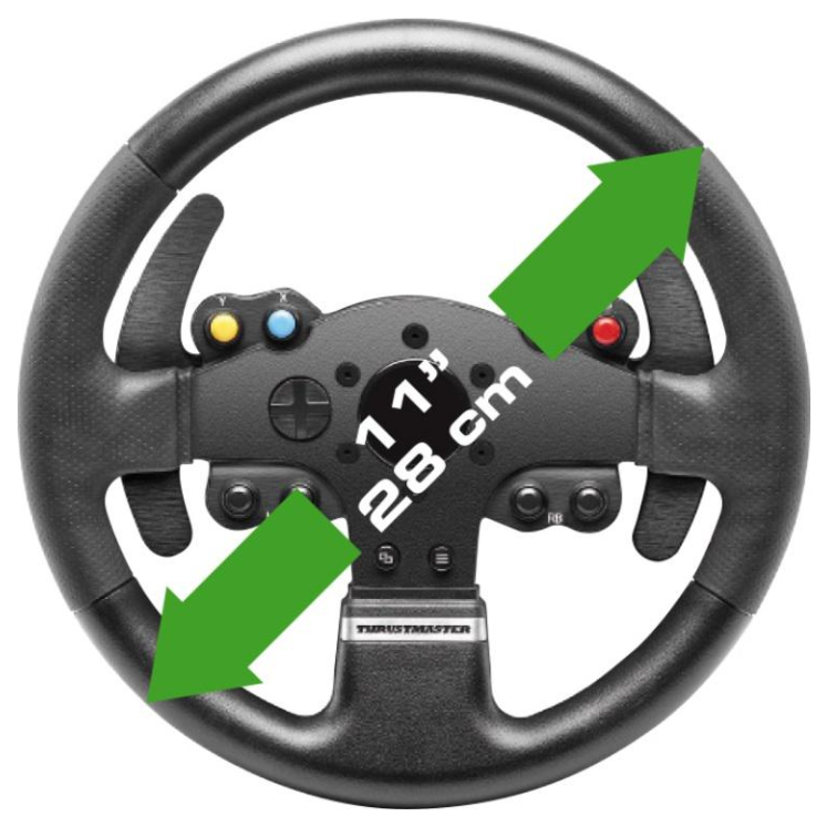 thrustmaster tmx pro force feedback racing wheel for pc. Black Bedroom Furniture Sets. Home Design Ideas