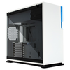 A product image of InWin 101C White Mid Tower ATX Case w/Tempered Glass Side Panel