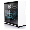 A product image of InWin 303 White Mid Tower Chassis RGB Edition